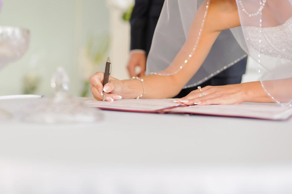 Notaire, célébrant de mariage