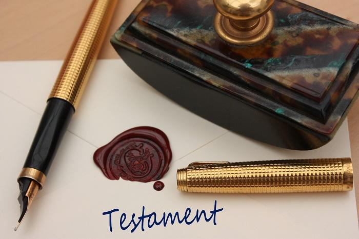 Prix pour un testament notarié
